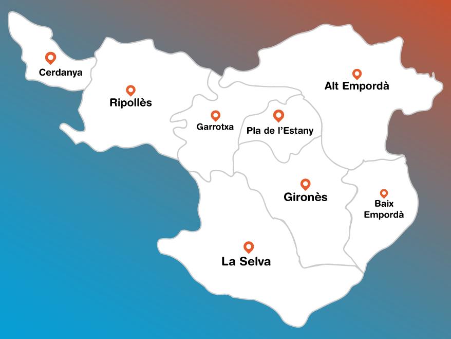 Mapa de Comarques de Fora de Lloc